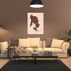 lady-lovely-leinwand-wallpaper-canvas-couch